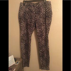 Faded glory cheetah pants